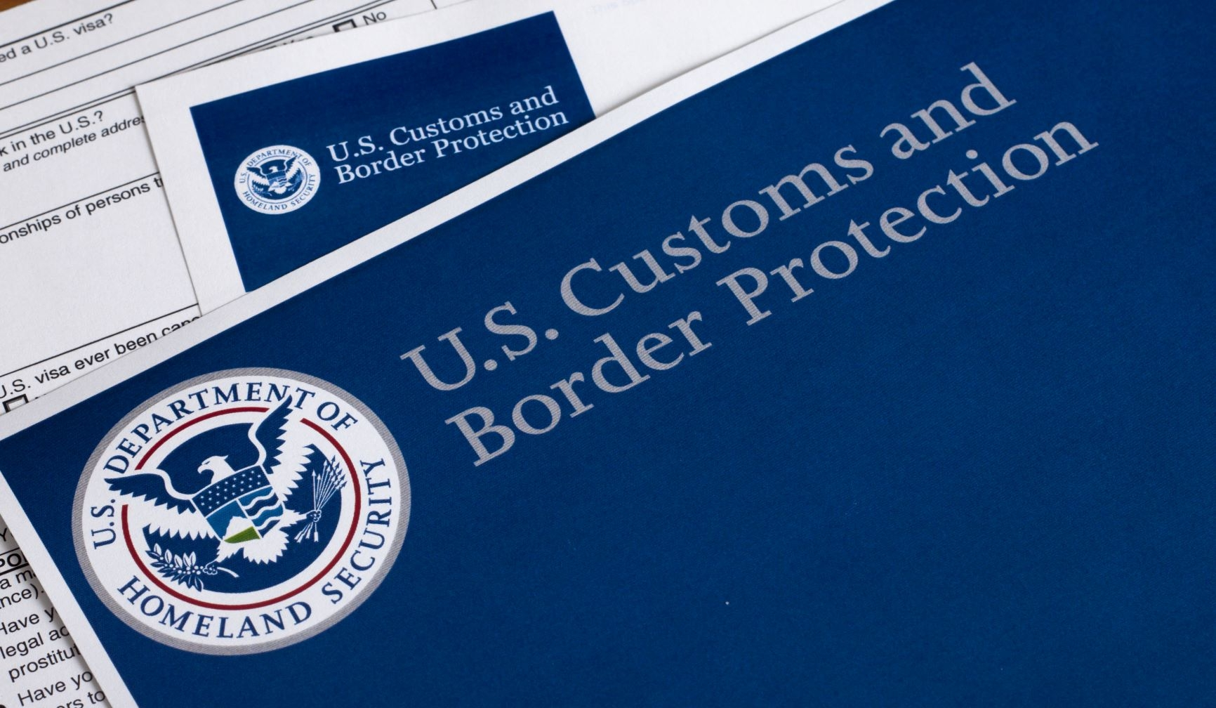 US Customs and Border Protection document